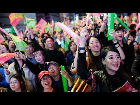 陈破空:解读台湾大选:蔡英文打败习近平!民进党打败共产党,美国打败中共