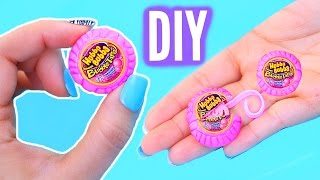 DIY Mini Bubble Gum | Real Gum Inside! World