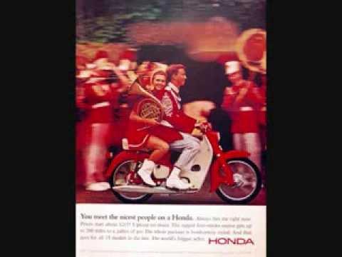 Vintage Honda Motorcycle Ads