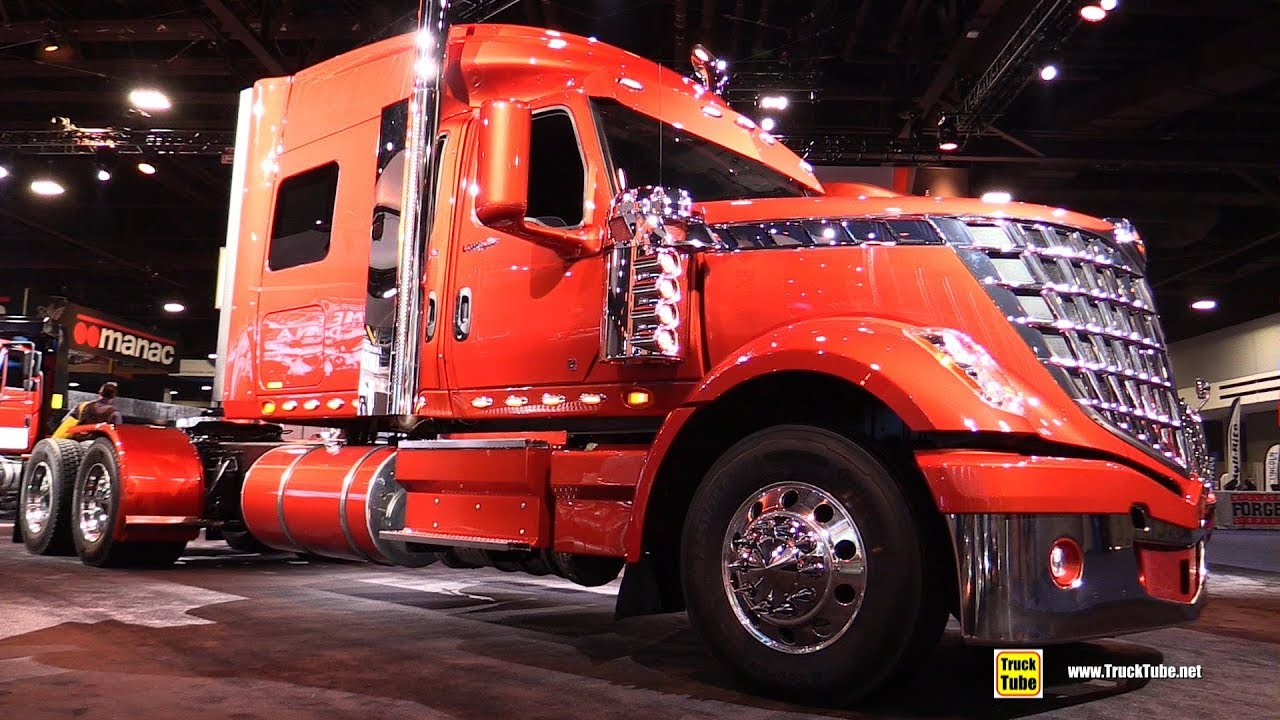 2018 International Lone Star Sleeper Truck Review