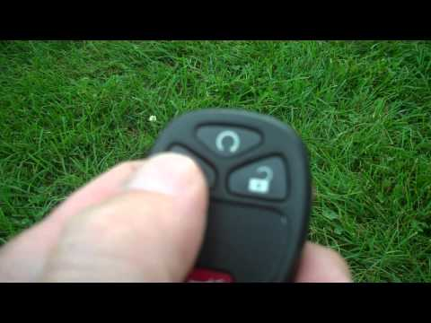 HOW TO USE THE REMOTE START ON A 2009 CHEVROLET HHR