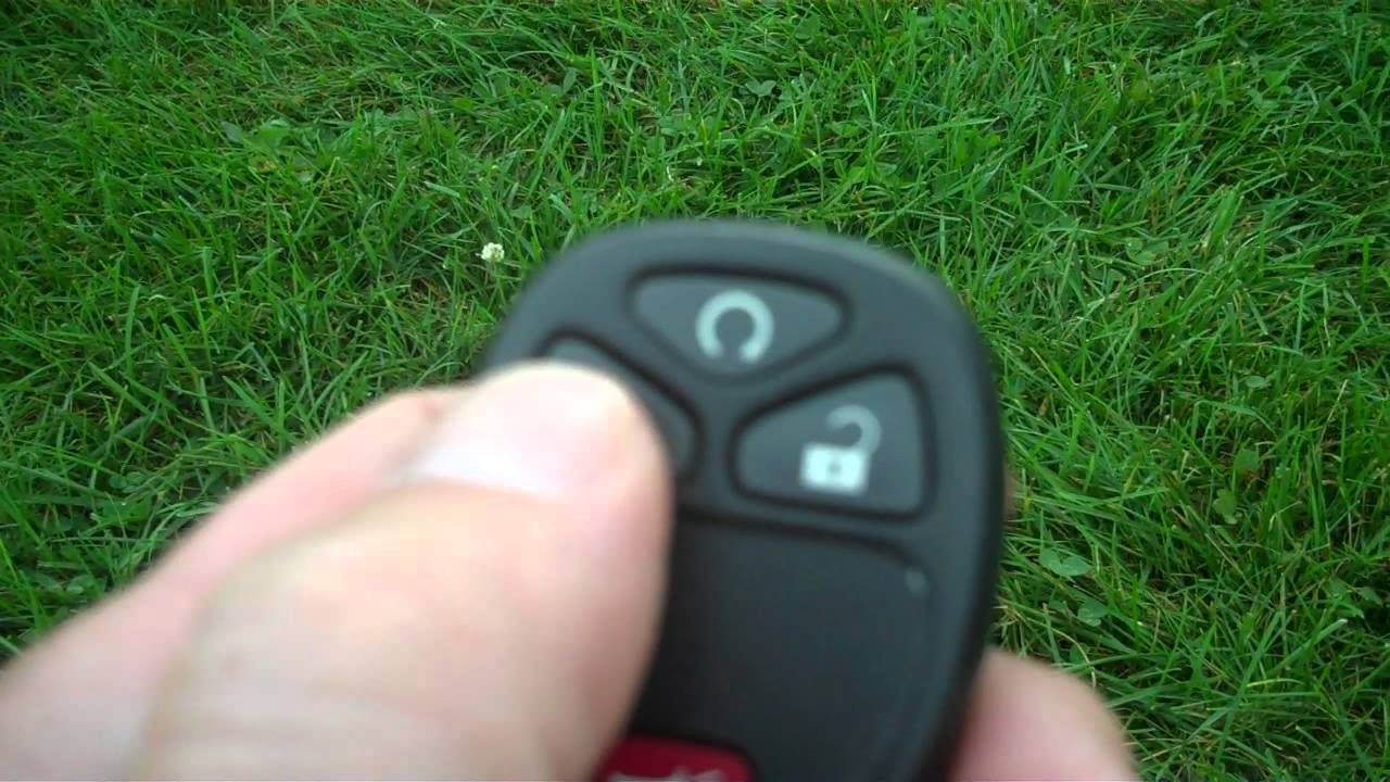 medium resolution of how to use the remote start on a 2009 chevrolet hhr
