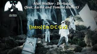 Download Chord & Lirik lagu Alan Walker - Darkside(feat.Au-Ra and Tomine Harket)