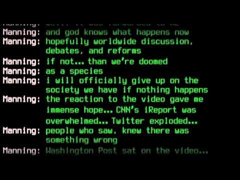 The WikiLeaks Chats: Manning - Lamo