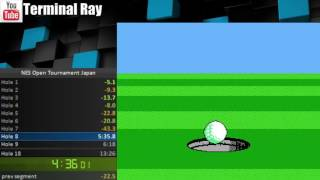 Japan Course PB NES Open Tournament Golf