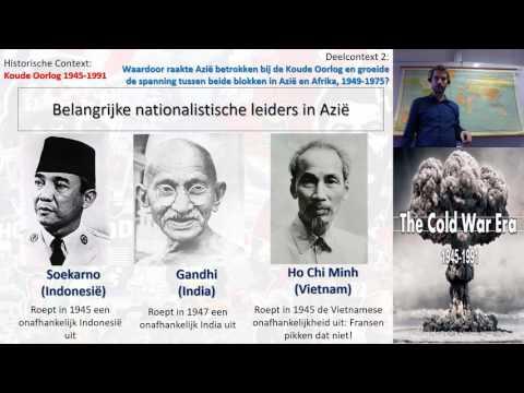 VWO 6: Context Koude Oorlog deelvraag 2: Azie 1945-1970