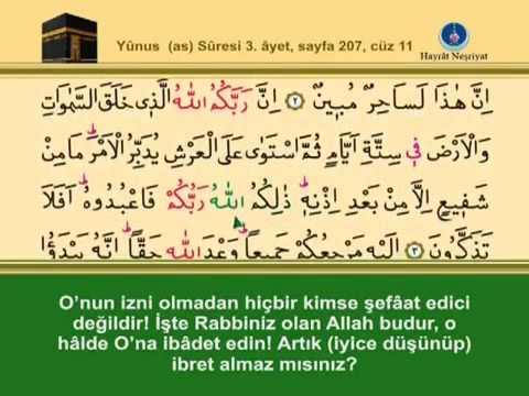 Fatih Çollak - 207.Sayfa - Yûnus Suresi (1-6)