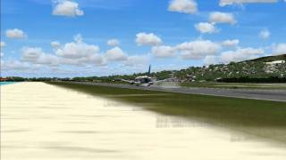 Caribbean Airlines 767-300 Landing at Sangsters (FS2004 Fictional Repaint)