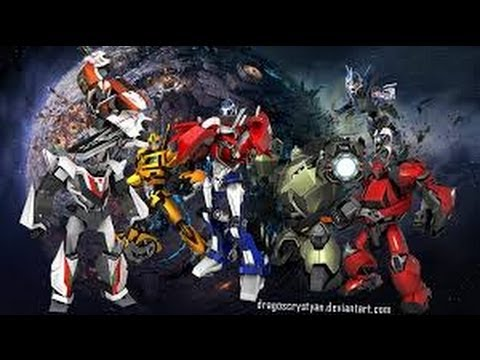 Transformers Prime Beast Hunters All Characters  Autobots   YouTube