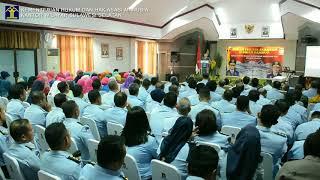 Serah Terima Jabatan Kepala Kantor Wilayah Kementerian Hukum dan HAM Sulawesi Selatan