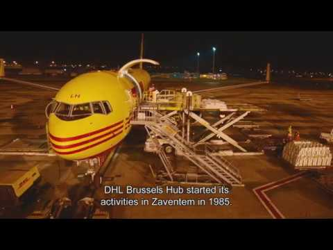 DHL Express opent nieuwe hub in Brussel