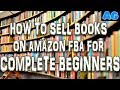 HOW TO MAKE MONEY SELLING BOOKS ON AMAZON FBA in 2019 FOR BEGINNERS online arbitrage