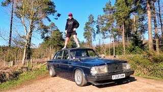 Andy's Volvo 240 - Car check