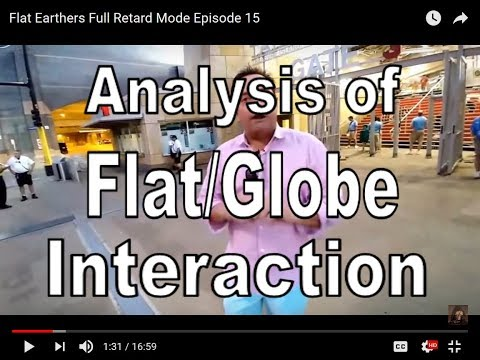 Analysis of Flat/Globe Interaction