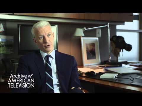 Anderson Cooper discusses becoming an anchor for ABC World News Now - EMMYTVLEGENDS.ORG