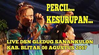 Full Video Limbukan PERCIL kesurupan di GLEDUG BLITAR 10 AGUSTUS 2017