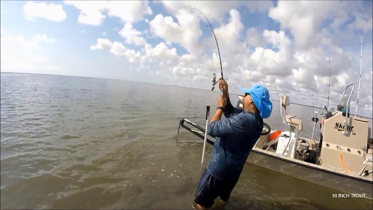 SOUTH BAY RED FISH USING PIGGY PERCH