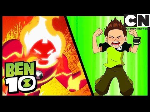 Ben 10   Heatblast's Best Moments   Cartoon Network