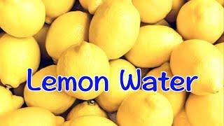 [cc] 柠檬水,檸檬水, How to Make Lemon Water | 不要再把檸檬切片了,這才是泡檸檬水最好的方法