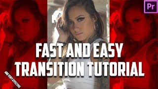 Fast and Easy Editing Transition
