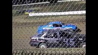 Glen Weston racing Friday 9-12-2014 at union county speedway