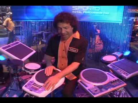 Roland HPD-10 Handsonic Electronic Percussion Pad - YouTube 9110fa01f0ae