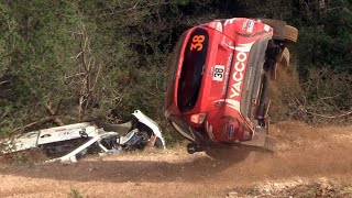 Rallye Best of Crash 2018 sortie de route compilation accident mistakes
