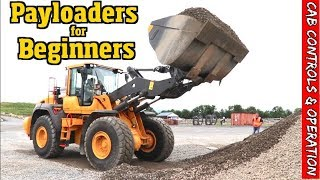 How to run a Payloader. Cab controls & basics for the noob pt 3