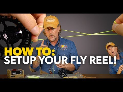 How To SETUP A Fly Fishing Reel! Step-by-Step Tutorial - 2019