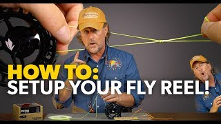 How to SETUP a FĮy Fishing Reel! Step-by-Step Tutorial - 2019