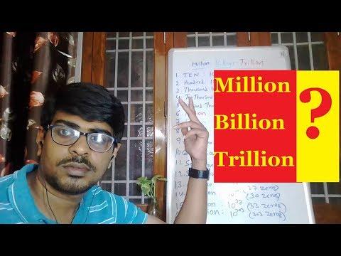 62. Million Billion Trillion