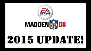 Update Madden 08 PC to 2015! FFXV MOD - Tutorial Video - WITH DOWNLOAD
