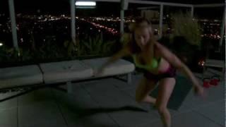 ZWOW # 3 Time Challenge -- Rooftop Workout | ZuzkaLight.com
