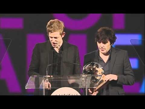 Spoon's Jim Eno and Britt Daniels- Honoree speech