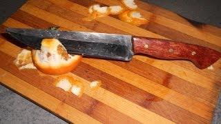 как сделать нож из быстрореза Р6М5