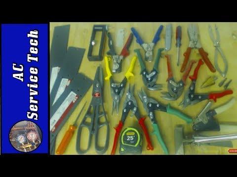 HVAC Ductwork/Sheet Metal Tools- Basics, Uses, & Demonstration of Each!
