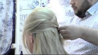 Как сделать быструю прическу? How to make a quick cocktail hairstyle?