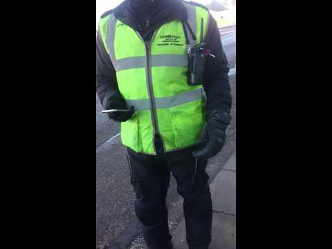 Traffic warden edinburgh