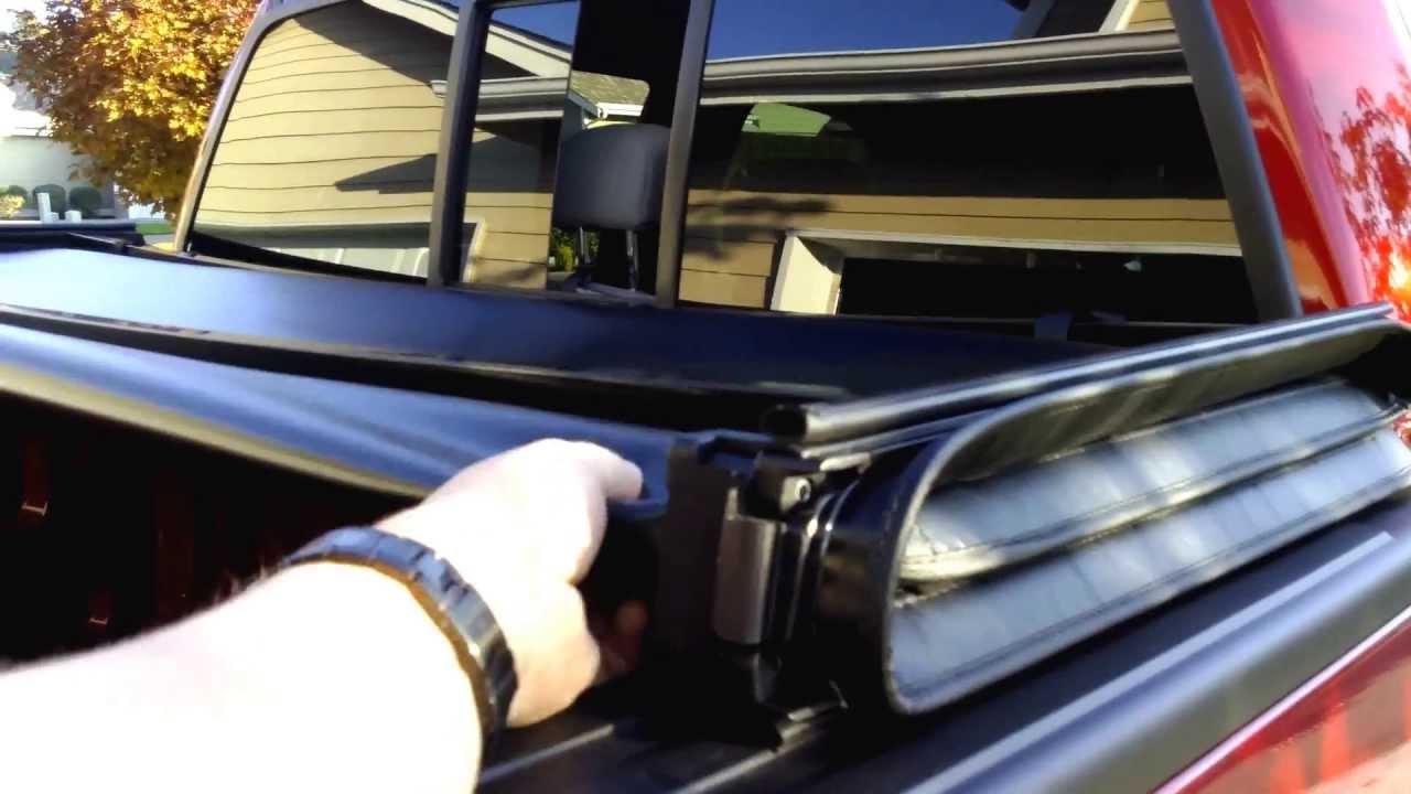 2014 Truxmart Tri Fold Tonneau Cover Review Youtube