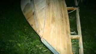 Oak Rowboat (it Never Got Finnished)