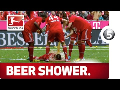 Ribery's Beer Shower - Advent Calendar Number 5