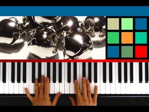 "How To Play ""Jingle Bells"" Piano Tutorial / Sheet Music"