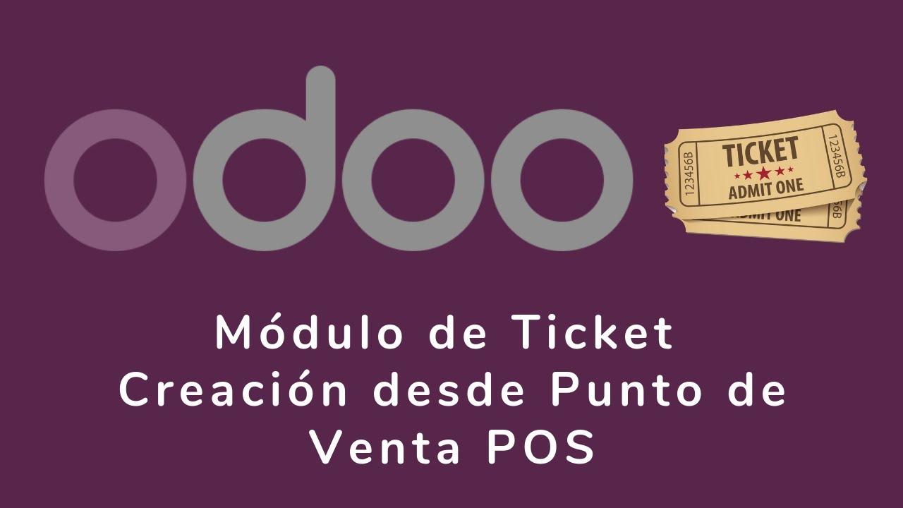 Odoo Erp Modulo De Ticket Creación Desde Presupuesto De Pos