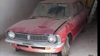 Brand New 1970 Toyota Abandoned on Dealer Lot in Cyprus