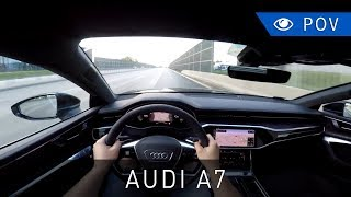 Audi A7 Sportback 55 TFSI quattro S tronic (2018) - POV Drive | Project Automotive
