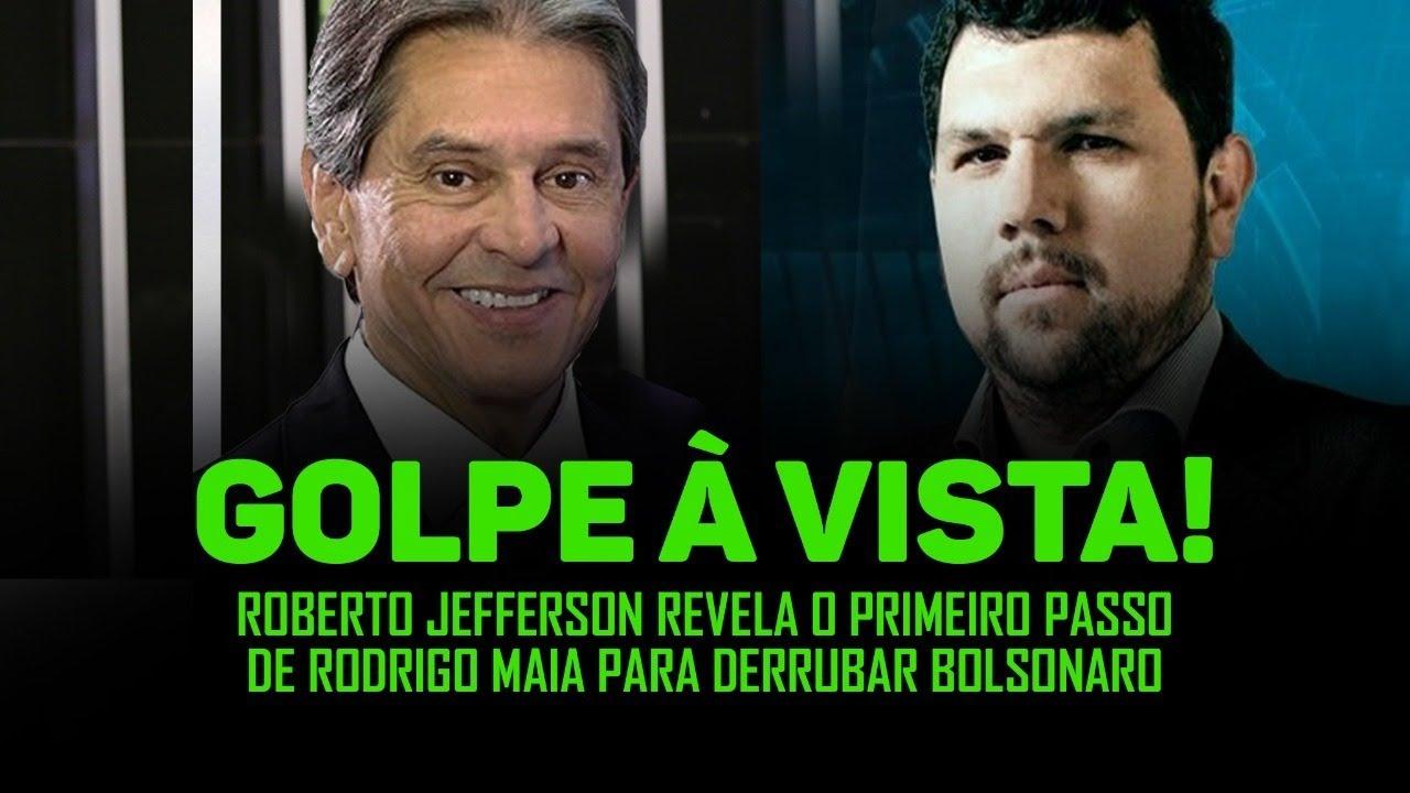 Roberto Jefferson revela detalhes da trama do golpe iminente de Rodrigo Maia contra Bolsonaro
