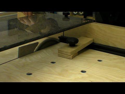 Sledge Guard & Clamping Inserts / Aluminium Cutting Test