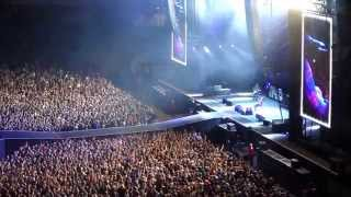 Foo Fighters Best of You (Dave Grohl broken leg) at Ullevi Gothenburg Sweden.