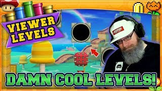 DAMN COOL LEVELS! | Super Mario Maker 2 Super Viewer Levels with Oshikorosu! [17]