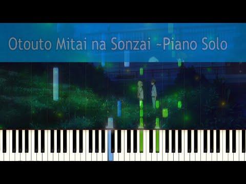Shigatsu wa Kimi no Uso - Otouto Mitai na Sonzai FULL VERSION- synthesia Tutorial - (Sheets+MIDI)